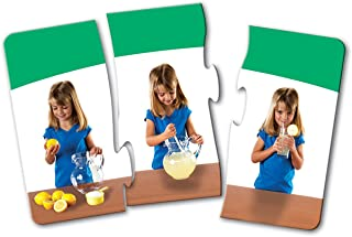 Learning Resources Sequencing Puzzle Cards, Set of 10