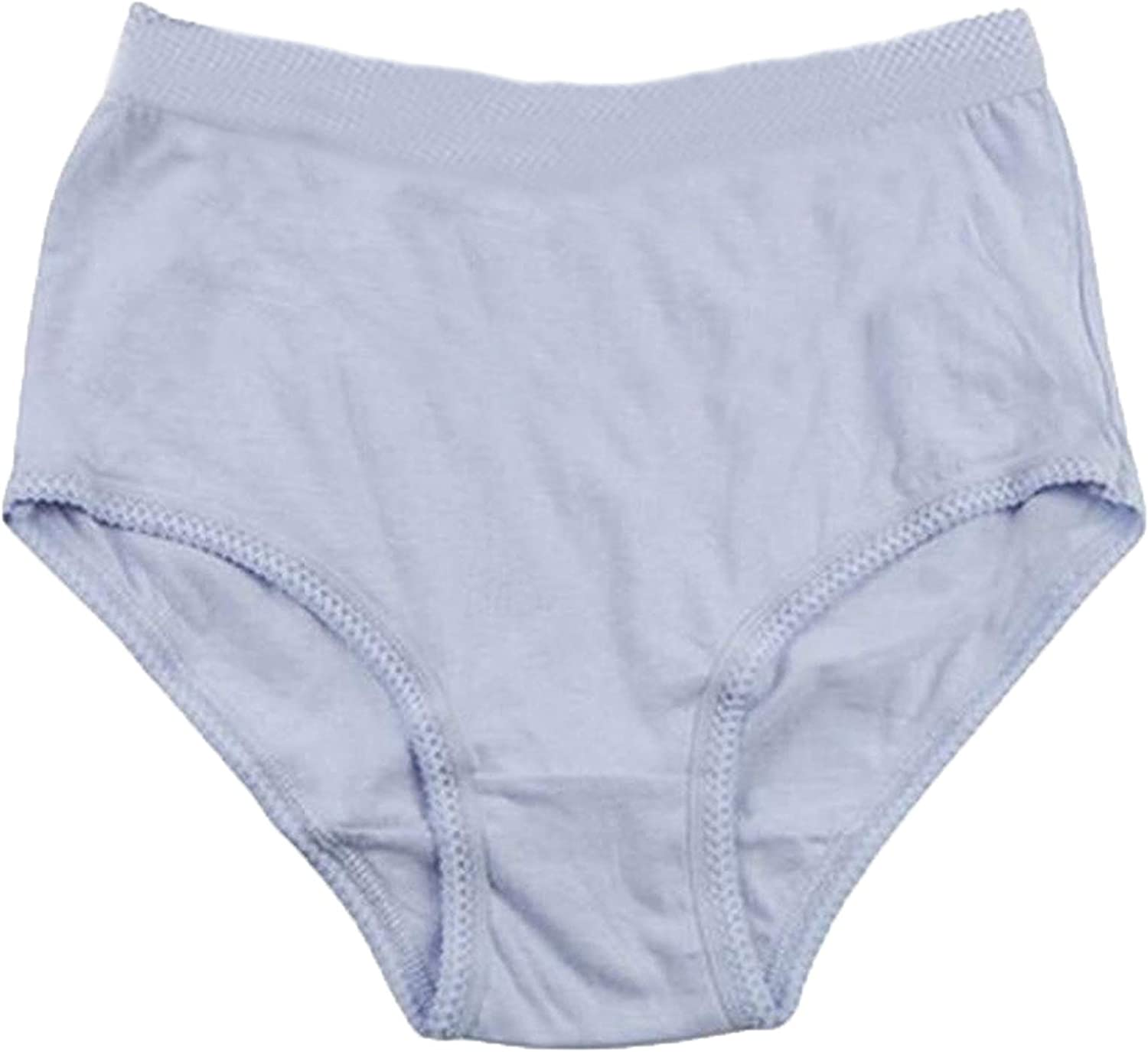 Ladies Womens 3//6//12 Pk Ribbed Pastel 100/% Cotton Full Size Mama Briefs Knickers