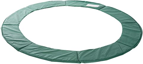 HOMCOM trampoline randafdekking veiligheidsnet weerafdekking ladder 8ft 10ft 12ft 15ft (randafdekking: Ø 305 cm • groen)