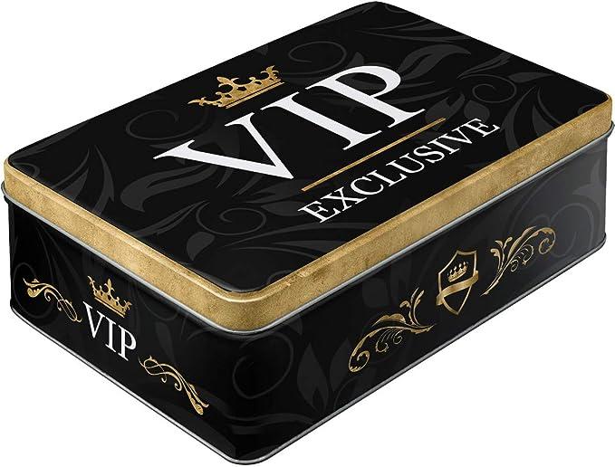 242 opinioni per Nostalgic-Art Contenitori di Latta retrò Piatti VIP Exclusive – Idea Regalo per