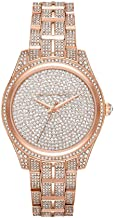Michael Kors Women's Lauryn Three Hand Quartz Movement Watch