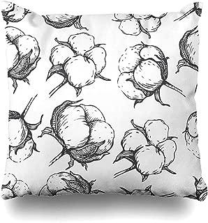 Pillow UNUSRFN Cotton Linen Eew321-02 Housse de Coussin en Coton 20 x 20 cm