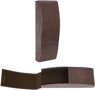 Flip Top Aluminum Glasses Case With Magnetic Closure - Slim Silhouette Style