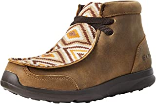 Ariat International Inc. Boys Kids Brown Aztec Spitfire Shoe