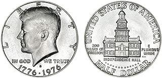 1976 S 40% Silver Bicentennial Kennedy Half Dollar Uncirculated US Mint