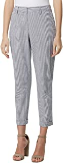 Tahari by ASL Women's Functional Fly Ankle Pants w/Cuff