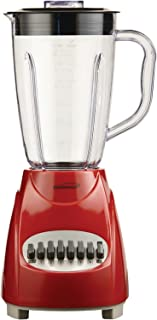 Brentwood JB-220R 12-Speed + Pulse Blender, Red