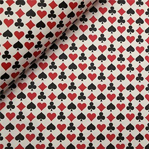 Tassotti–Papier Tassotti gemustert Spielkarte–85g/m2