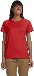 Ladies Ultra Cotton 100% Cotton T-Shirt. 2000L