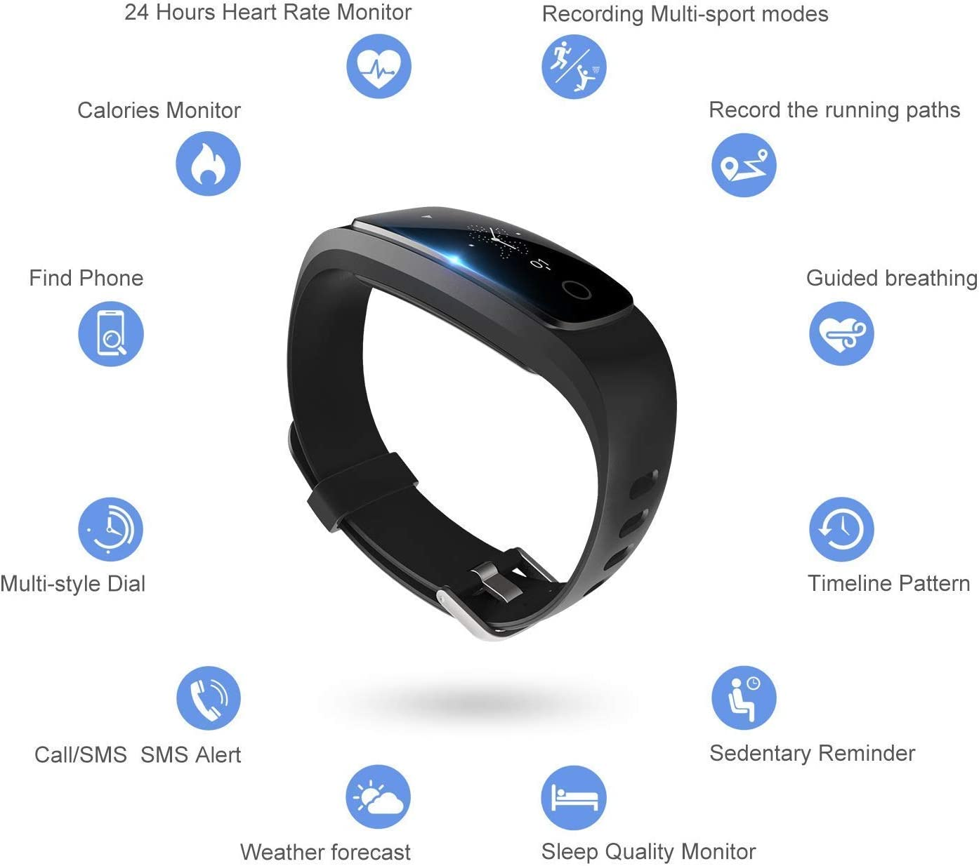 DBPOWER-Fitness-Tracker-with-Heart-Rate-Monitor