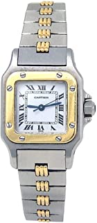 Cartier Santos Galbee Automatic-self-Wind Female Watch 2423 (Certified Pre-Owned)