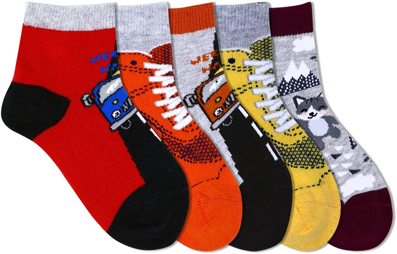 Lobster Feet Kid's Socks ( Short Length , Pack of 5 )