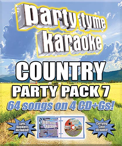 Party Tyme Karaoke - Country Party Pack 7 [4 CD][64-Song Party Pack CD+G]
