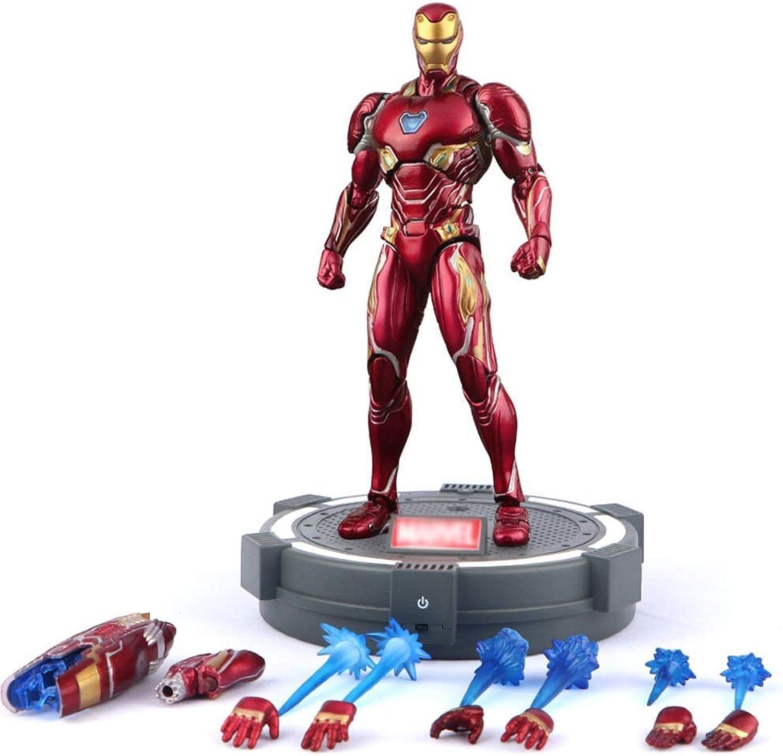 WYZBD Toy Marvel Iron Man MK50 Modell überraschung Rcher Spielzeug Modell Super Hero Kinderspielzeug