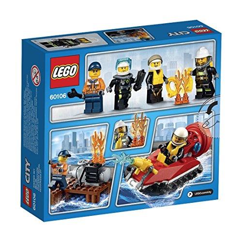 LEGO- City Starter Set Pompieri Costruzioni Gioco Bambina Giocattolo, Colore Non specificato, 60106