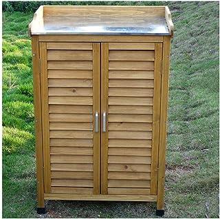 Placards et coffres de rangement Jardin Armoires 3 niveaux d'extérieur Armoire de rangement étanche jardin Sunscreen artic...