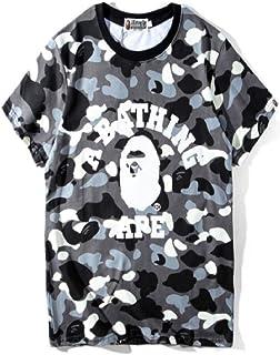GoldBucket 1204-Unisex Bape Camo Ape Teenage Adult Fashion T-Shirts