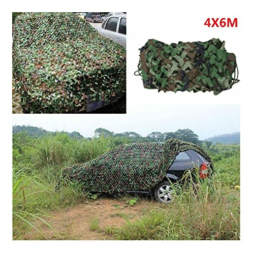 BULLETSHAKER 20X13 FT Woodland Shooting Hide Army Camouflage Net Hunting Cover Camo Netting