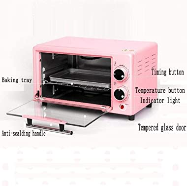 Rindasr Microwave oven countertop Electric oven,Mini household cake baking tool, stainless steel roaster, Can be used in kitc