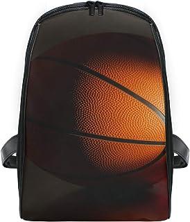 FANTAZIO NBA Mochila de baloncesto para deportes, viajes, delgada, duradera, para niños