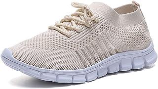 Donna da Ginnastica Running Sports Sneaker da Fitness Allacciare Maglia