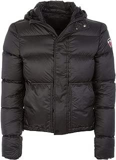 Rossignol Luxury Fashion Mens RLFMJ67200 Black Down Jacket   Season Permanent