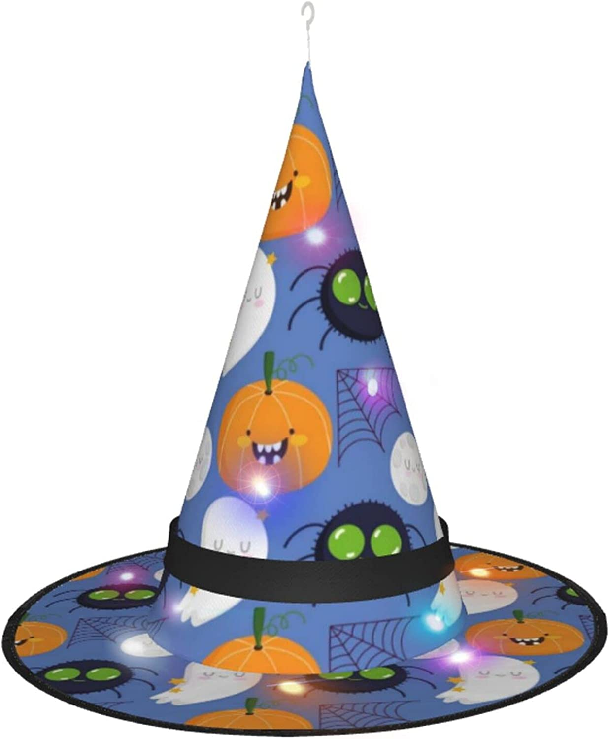 KQLH Halloween Witch Hat With Accessory Many popular brands For Costume Light Great interest Hallo