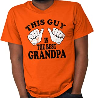 This Guy is The Best Grandpa Grandfather T Shirt Tee