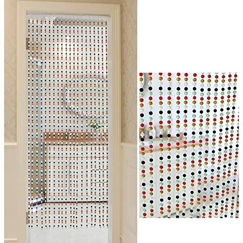 WXQIANG Doorway Beaded Curtain Modern Crystal Room Divider Decoration Living Room Closet Panel, Customize Visible light and glare protection, customized, in