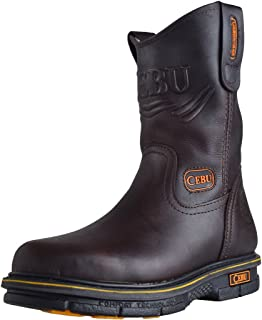 "CEBU Men's Max 10"" Work Boot"