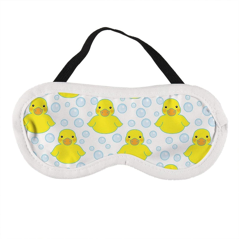 Rubber Virginia Beach Mall Ducks And Bubbles Arlington Mall Sleep Eye Mask Kids for Girls,S Women