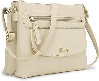Exotic Cross Body Sling Bag for Girls/Women (Cream)