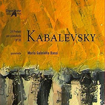 Kabalevsky 24 Preludi Per Pianoforte Op 38