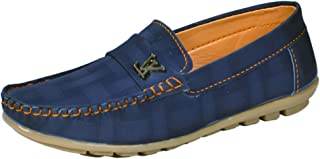 Onbeat Kids Casual Blue Loafer