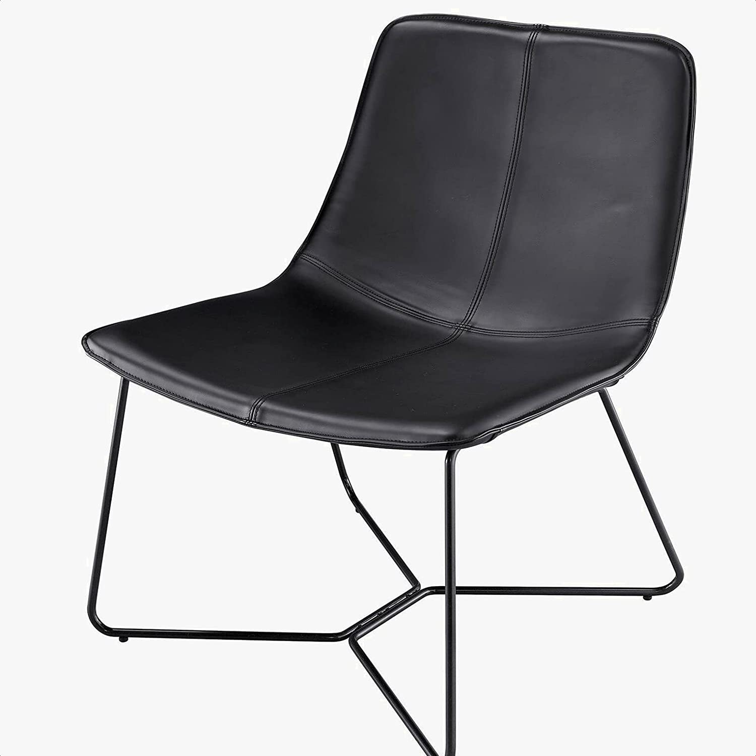 Rathburn PU Leather Lounge Chair H service Swi Dimensions: 16'''' Max 64% OFF Back