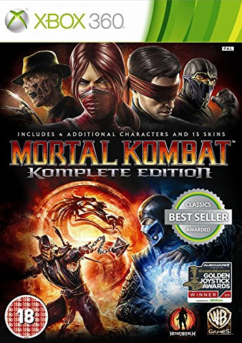 Warner Home Video Games Mortal Kombat - Komplete Edition XBOX 360