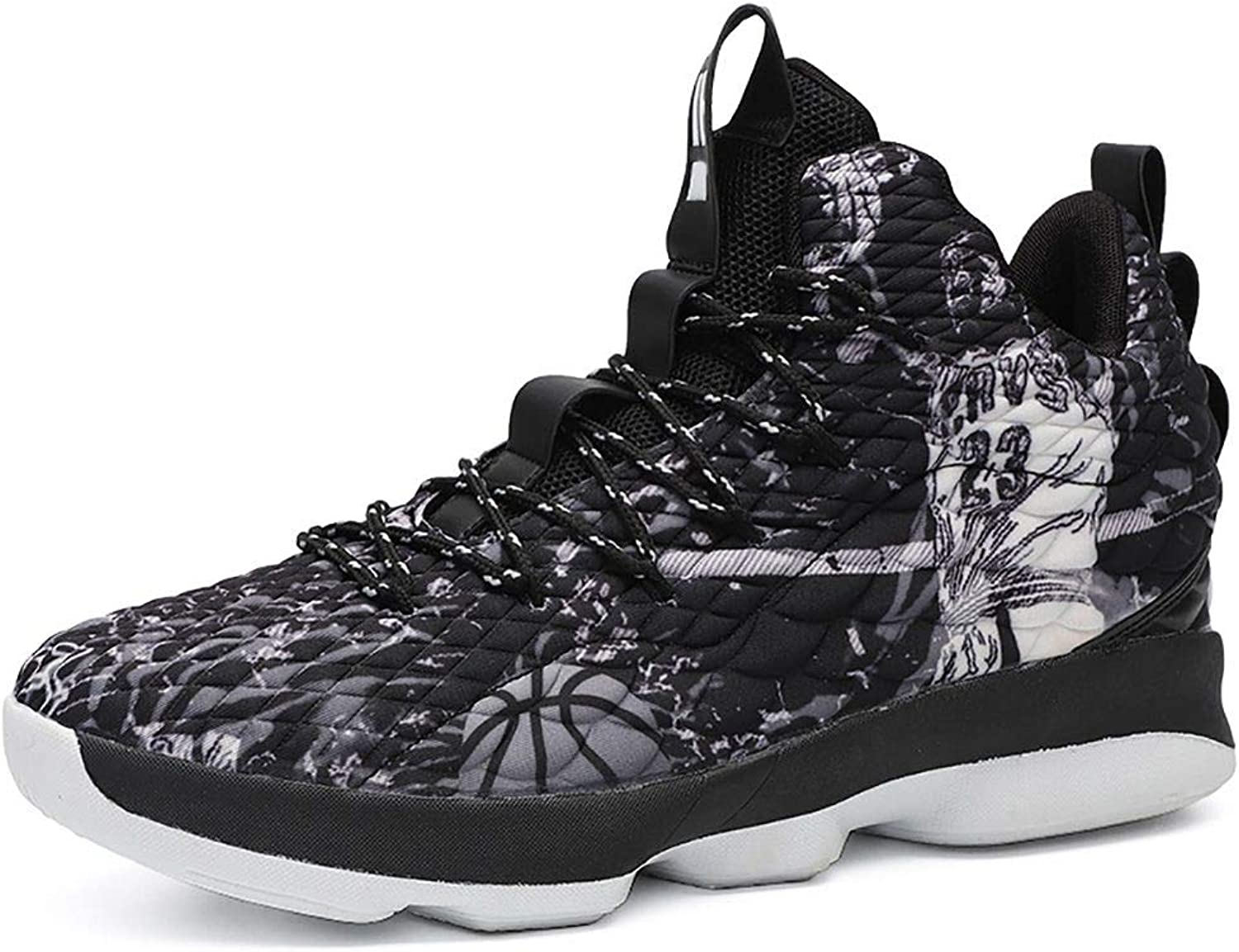 JiYe Mens Basketball shoes Sports Gym Slam Dunk shoes