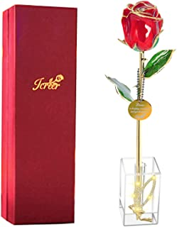 2021 Women Gifts 24k Gold Rose Real Rose Last Forever and Never Fade for Mom Wife,Birthday Anniversary Valentines Day Moth...