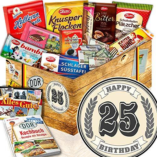 25. Geburtstagsgeschenk - Schokolade Ostbox - 25-Geburtstag Geschenk Frau