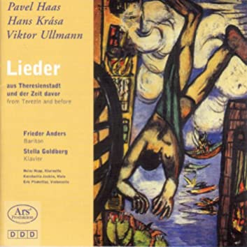 Vocal Recital: Anders, Frieder - Haas, P. / Krasa, H. / Ullmann, V.