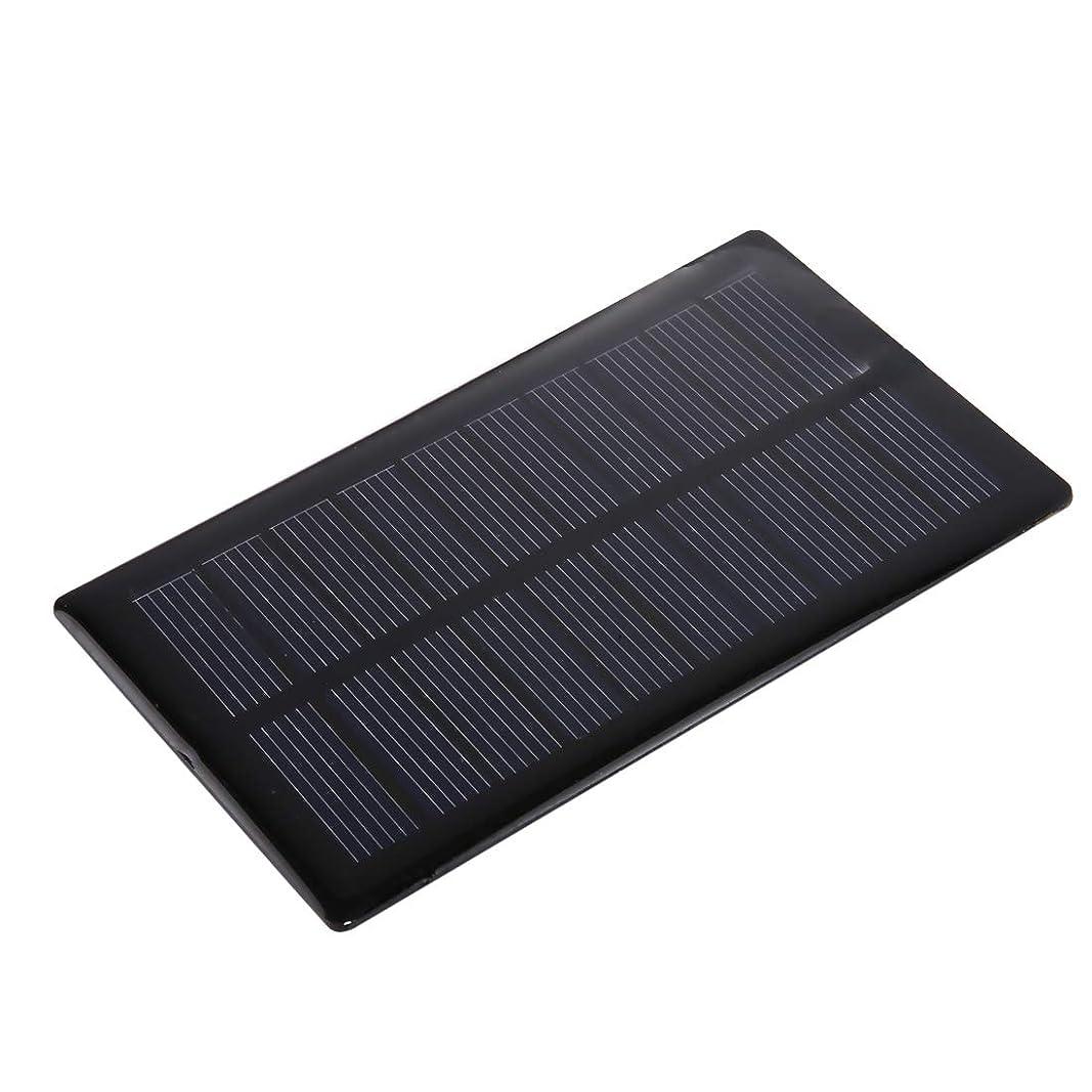 アウトドア政権感じポータブル折りたたみソーラーパネル 5V 0.8W 150mAh DIY太陽電池モジュールソーラーパネルモジュール電池、サイズ:112 x 64mm マウサー日本携帯用折りたたみソーラーパネル