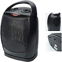 CPAZT Estufa Calentador eléctrico portátil Mini Calentador de Aire del Ventilador del radiador de calefacción de Habitaciones 500W In Winter for Ministerio del Interior YCLIN
