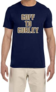Tobin Clothing Navy Los Angeles Goff to Gurley T-Shirt