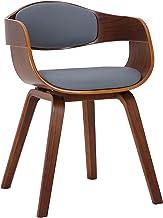 CLP Krzesło dla gości Kingston z oparciem na całym obwodzie i obiciem I łatwe w pielęgnacji krzesło z oparciem z obiciem z...