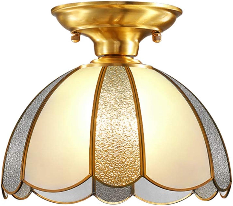 SEEKSUNG Deckenleuchte,led deckenlampe 260mm,Eleganter Weinlese deckenlampe led,Wohnzimmer Diele Küche Schlafzimmer deckenleuchte Bad[Energieklasse A +]