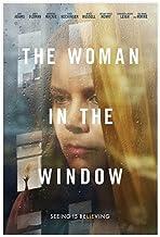 Kvinnan i fönstret psykologisk thriller film canvas affisch väggkonst dekor tryck bildmålningar för vardagsrum sovrum deko...