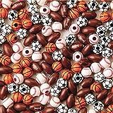 Color Splash! Sport Bead Assortment (Bag of 144)