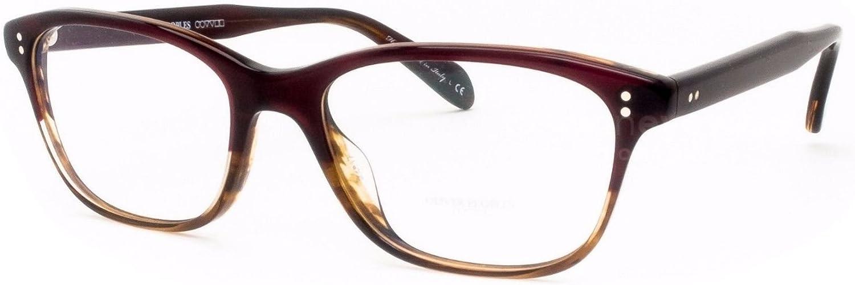 New Oliver Peoples 5224 1224 Ashton Red Tortoise Gradient Eye Wear