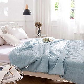 Alarmclocker8B Colcha Rosa y Blanca,Manta de Colcha de Verano,Colcha de Colcha,Textiles para el hogar,Adecuada para niños de 40 a 11x150cm_11