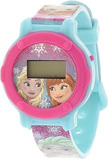 ديزني فروزن - ساعة منبه للاطفال لغرفة النوم - ساعة يد الكترونية خارجية